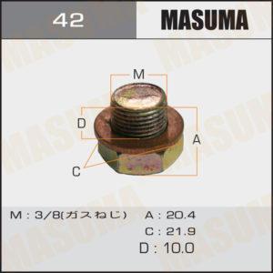 Болт маслосливной MASUMA 42