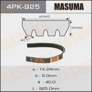 Ремень ручейковый MASUMA 4PK- 925 - (4PK925)