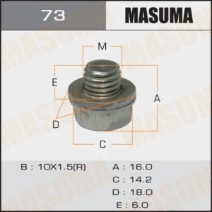 Болт маслосливной A/T MASUMA 73
