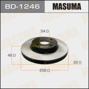 Диск тормозной MASUMA BD1246