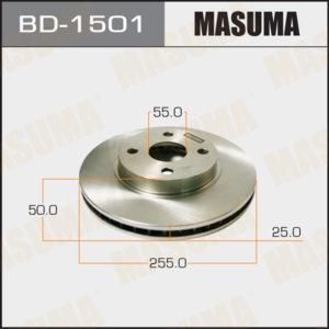 Диск тормозной MASUMA BD1501