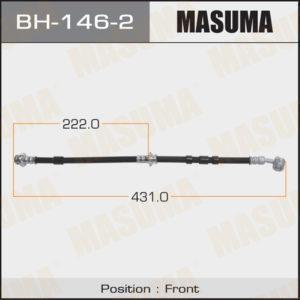 Шланг тормозной MASUMA N-  /front/  Bluebird U14, Primera P10#,  P11#  LH - (BH1462)
