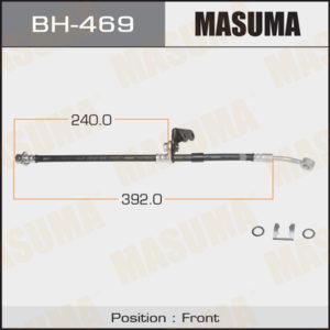 Шланг тормозной MASUMA H-  /front/  Civic Ferio, Domani, Partner LH - (BH469)