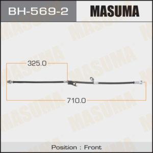 Шланг тормозной MASUMA T- /front/  RAV4  ACA3# LH - (BH5692)