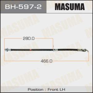 Шланг тормозной MASUMA T-  /front/  LAND CRUISER UZJ200L LH - (BH5972)