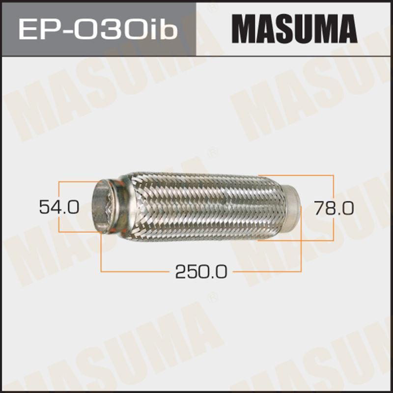 Гофра глушителя MASUMA EP030ib
