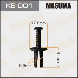 Клипса автомобильная MASUMA KE001