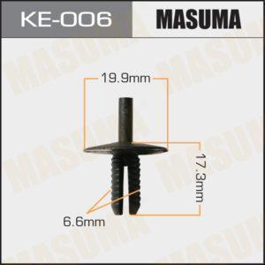 Клипса автомобильная MASUMA KE006