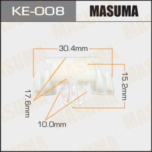 Клипса автомобильная MASUMA KE008