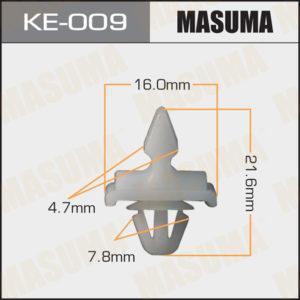 Клипса автомобильная MASUMA KE009
