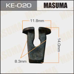 Клипса автомобильная MASUMA KE020