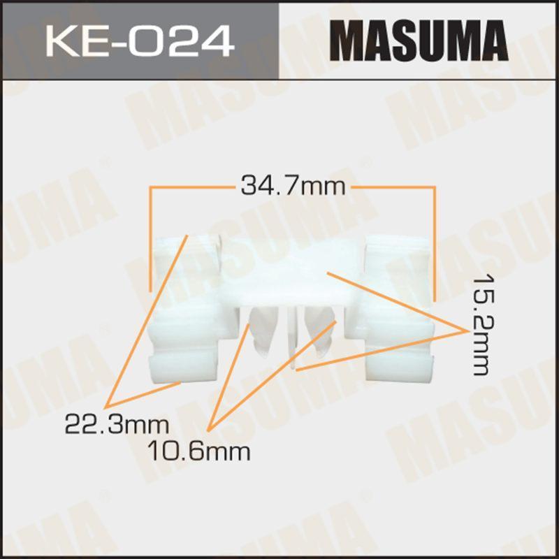 Клипса автомобильная MASUMA KE024