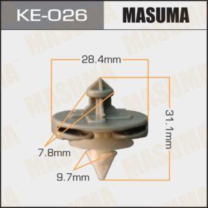 Клипса автомобильная MASUMA KE026