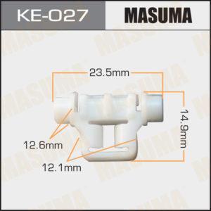 Клипса автомобильная MASUMA KE027