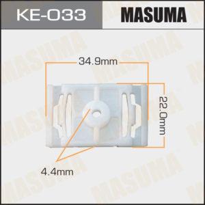 Клипса автомобильная MASUMA KE033