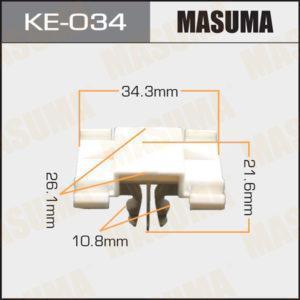 Клипса автомобильная MASUMA KE034