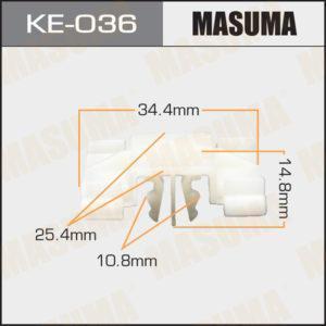 Клипса автомобильная MASUMA KE036