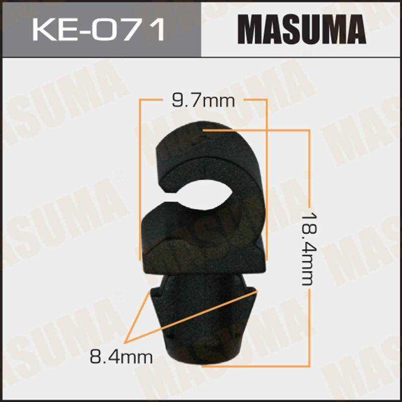 Клипса автомобильная MASUMA KE071