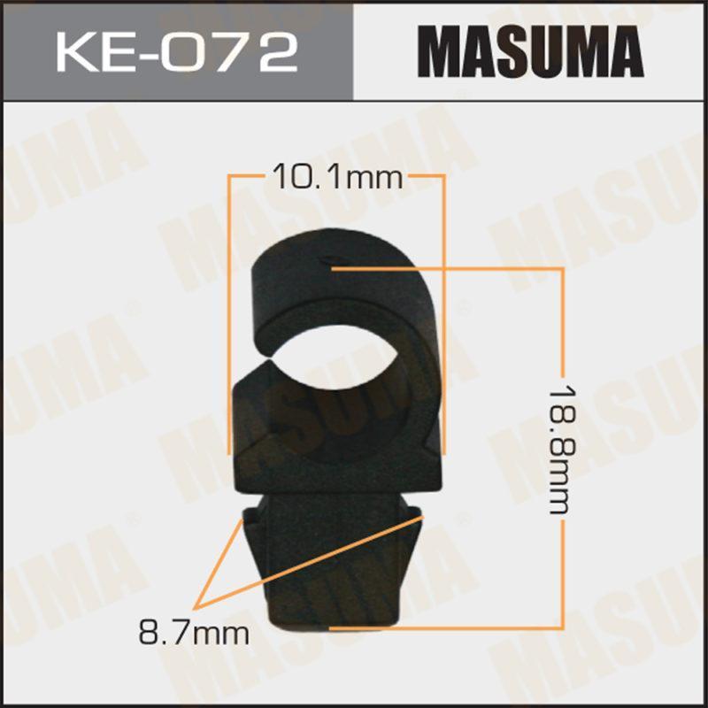 Клипса автомобильная MASUMA KE072