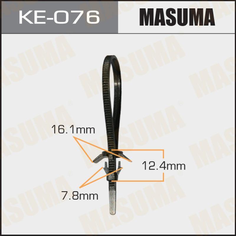 Клипса автомобильная MASUMA KE076