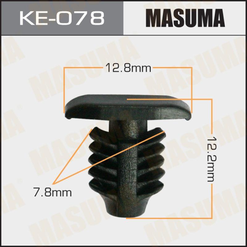 Клипса автомобильная MASUMA KE078