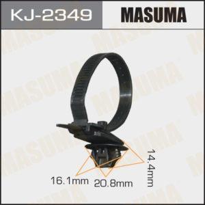 Клипса автомобильная (автокрепеж) MASUMA   2349-KJ - (KJ2349)
