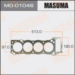 Прокладка Головки блока MASUMA MD01046
