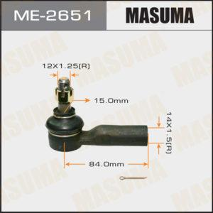 Наконечник рулевой тяги MASUMA  #V2#, #E9#, AE110, 111, SXA10, ZNE14 - (ME2651)
