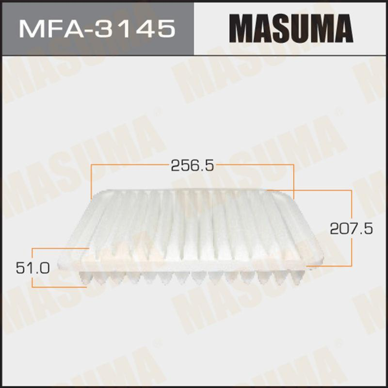 Воздушный фильтр A-3022 MASUMA (1/40) - (MFA3145)