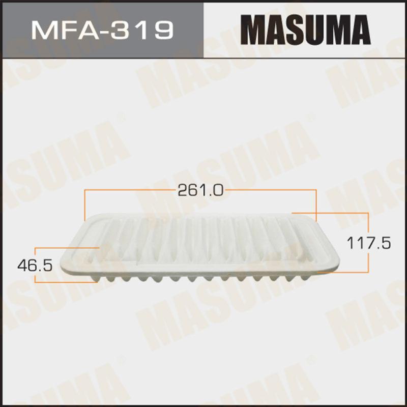 Воздушный фильтр A-196 MASUMA (1/40) - (MFA319)