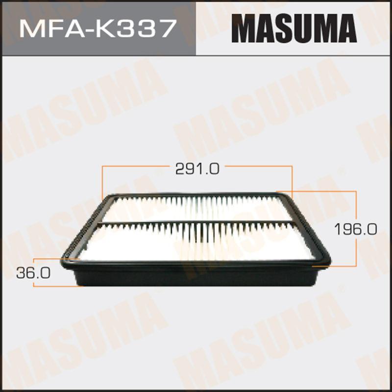 Воздушный фильтр MASUMA MFAK337