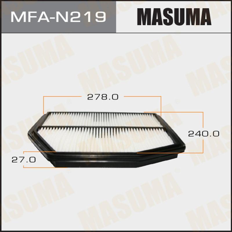 Воздушный фильтр MASUMA PATHFINDER/ R52R (1/40) - (MFAN219)