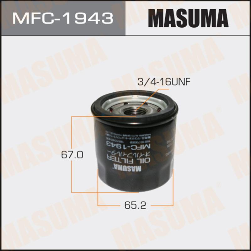 Масляный фильтр C-932 MASUMA - (MFC1943)