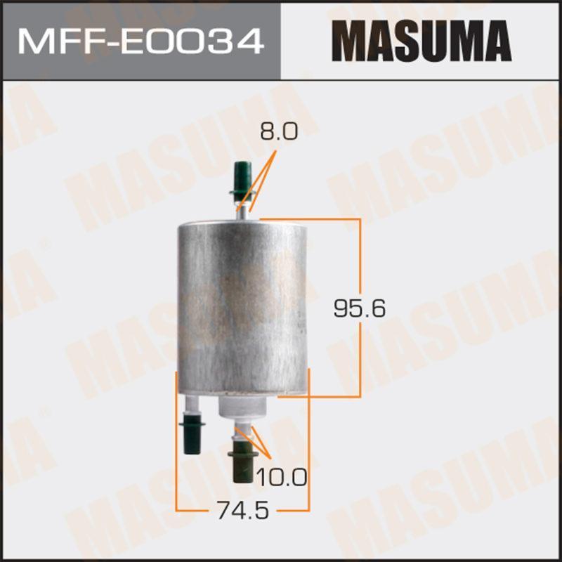 Топливный фильтр MASUMA MFFE0034