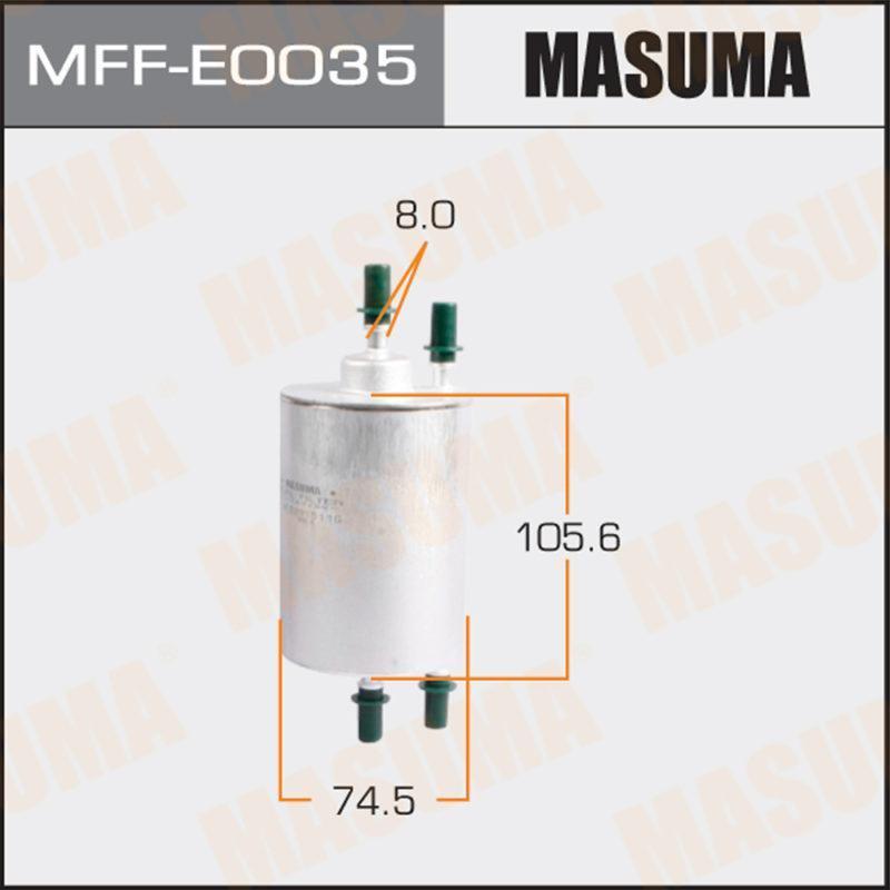Топливный фильтр MASUMA MFFE0035