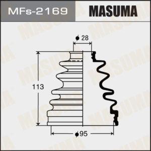 Пыльник ШРУСа MASUMA  Силикон   MF-2169 - (MFs2169)