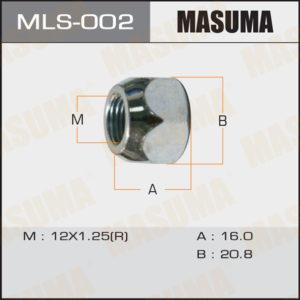 Гайка MASUMA MLS002