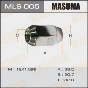 Гайка MASUMA MLS005