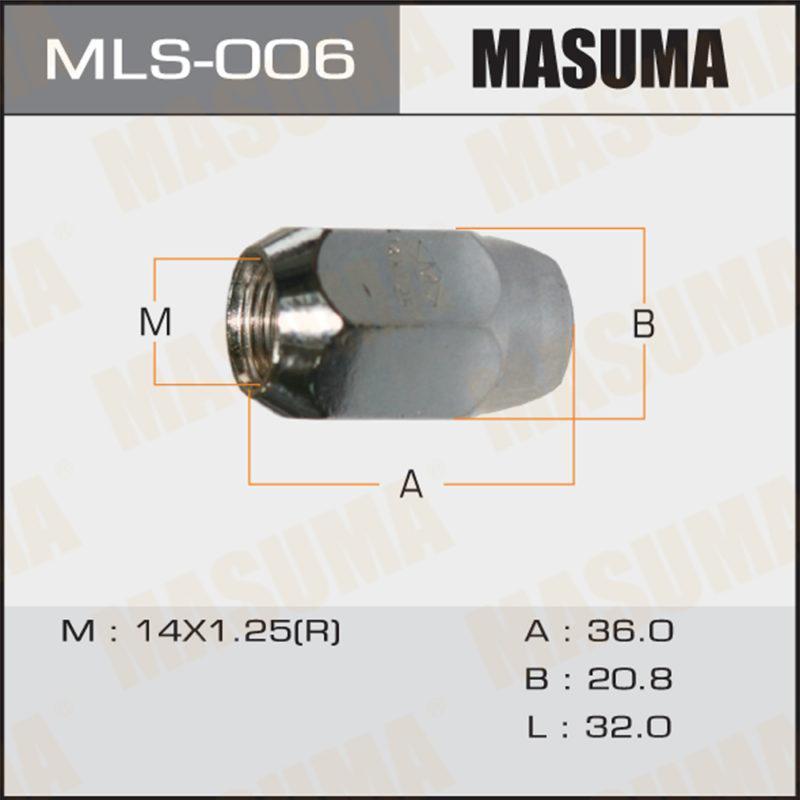 Гайка MASUMA MLS006