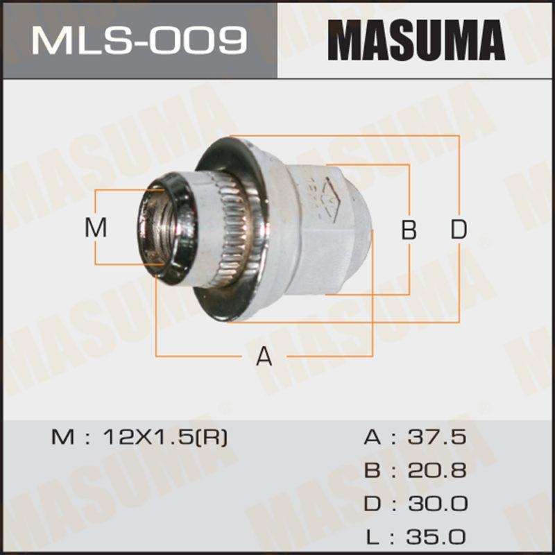 Гайка MASUMA MLS009
