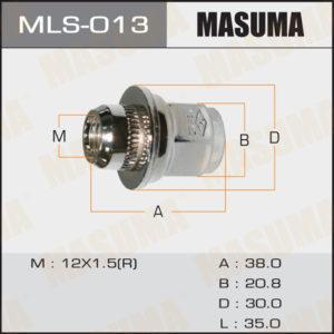 Гайка MASUMA MLS013