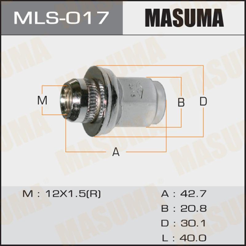 Гайка MASUMA MLS017