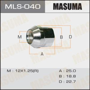 Гайка MASUMA MLS040