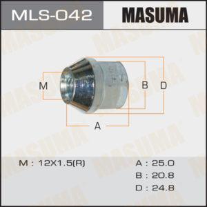 Гайка MASUMA MLS042