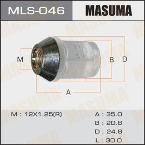 Гайка MASUMA MLS046