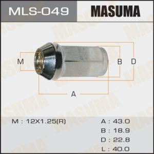 Гайка MASUMA MLS049