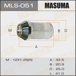 Гайка MASUMA MLS051