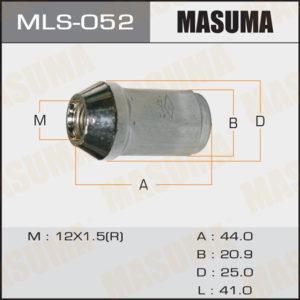 Гайка MASUMA MLS052