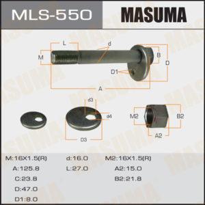 Болт эксцентрик MASUMA MLS550