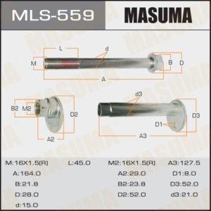 Болт эксцентрик  MASUMA к-т.Toyota - (MLS559)